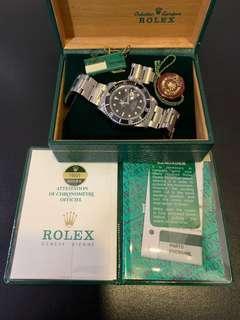 Rolex Submariner 16800 Complete Set!