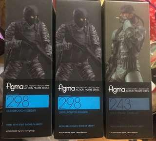 Figma243, 298 Metal Gear Solid Snake Soldier 三隻