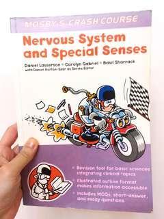 (醫科書本)Mosby's crashcourse: Nervous system and special senses