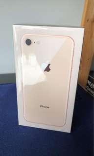 BN Iphone 8 Rose Gold