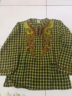 Baju Koko anak Little M 5-6 th