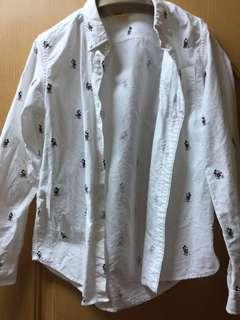 🚚 大童棉質襯衫