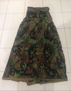 Dress batik kemben