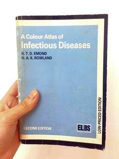 (醫科書本) A colour atlas of Infectious Diseases