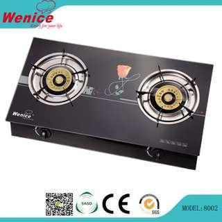 Tempered Glass Gas Stove