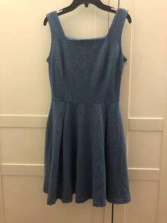 L'ZZIE Blue Dress