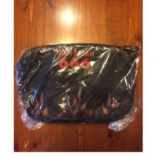 Team Satan 666 utility bag 紅火焰