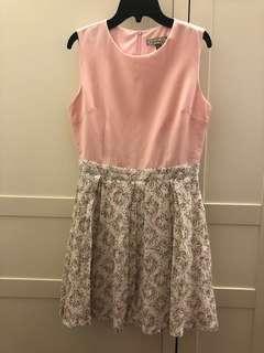 L'ZZIE Floral Dress
