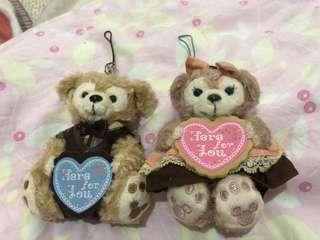 Duffy shelliemay japan Disney disneysea 日本 情人節版 絕版 gift 女朋友 一對