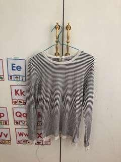 H&M stripe top