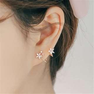 🚚 PO Flower Earring