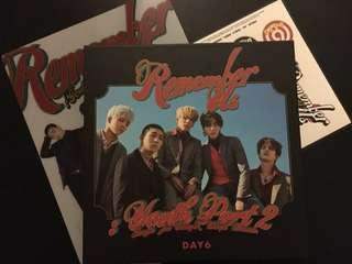 DAY6 Remember Us Album REW Ver