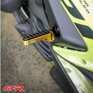 GTR Evolution Singapore Yamaha Aerox 155 Pillion Foot Peg ! Ready Stock ! Promo ! Do Not PM ! Kindly Call Us ! ! Kindly Follow Us ! We Deliver Throughout SG !