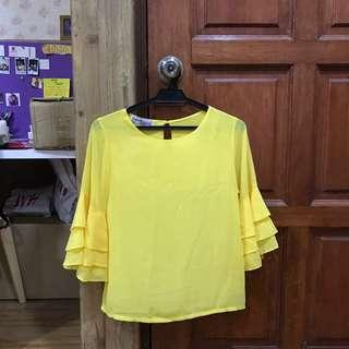 Yellow Blouse