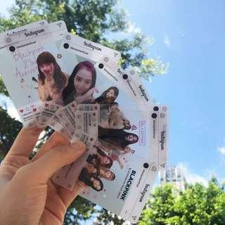 PO Blackpink Transparent Card