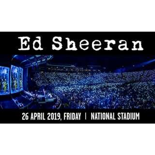 🚚 Ed Sheeran - 29 April 2019, Friday, Singapore