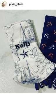 🚚 BN handmade customizable carrier drool pads