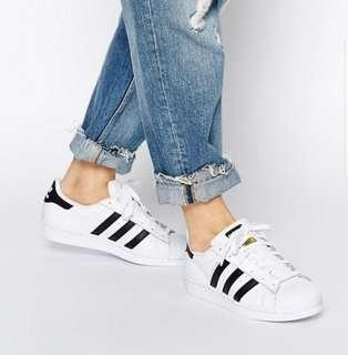 Adidas Superstars US6