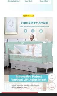 🚚 Baby bed guard (bedrail)