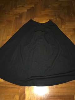 New Look Midi Skater Skirt