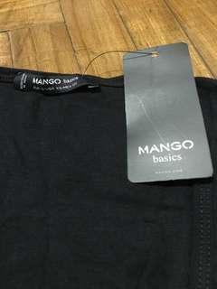 🚚 Mango Basic Black Tank Top