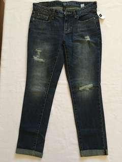 Gap Distressed Boyfriend Jeans - Size 2/26