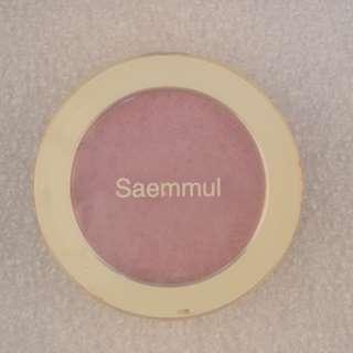 The saem saemmul 單色腮紅(紫)