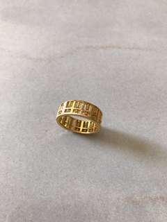 916 8.19g 22k ring