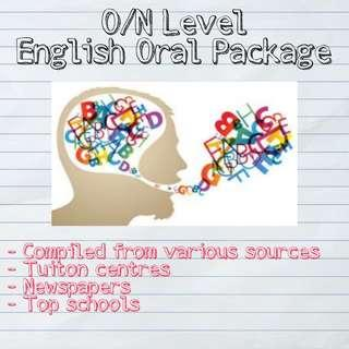 A1 English Oral package