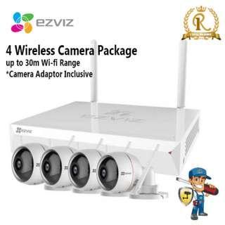 Wireless IP Camera Package (DIY)