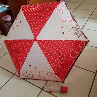 Hello kitty 輕量雨傘