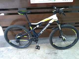 Trade/Sell Btwin 560s full sus mtb