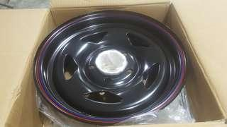 deep dish STAR RIM FOR OLD HIACE