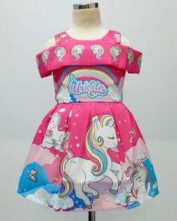 🚚 Pretty and Elegant Sabrina Unicorn Dress Instock