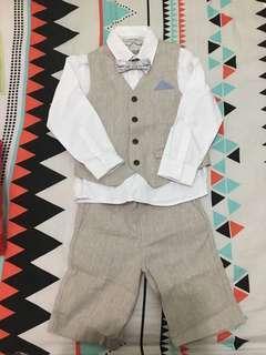 Boy formal suit gown 男童 西裝 禮服 花仔套裝