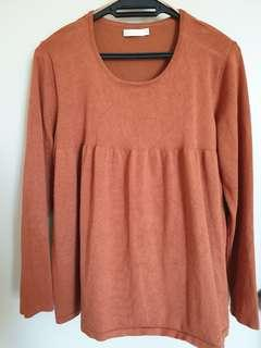 Knitted Top - Brown