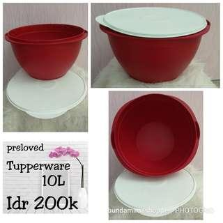 Tupperware wadah + tutup