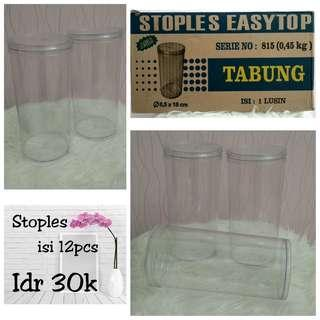 Toples Tabung 18cm