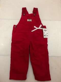 OshKosh B'gosh Red Jumpsuit for Baby Girl