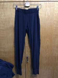 nike black dri-fit jogger pants sport trousers 快乾黑色運動長褲