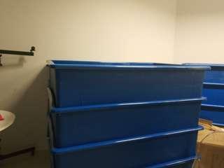 🚚 Blue colour tank