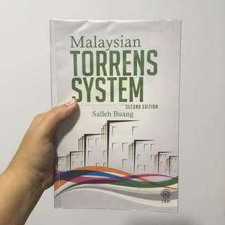 Malaysia's Torrens System