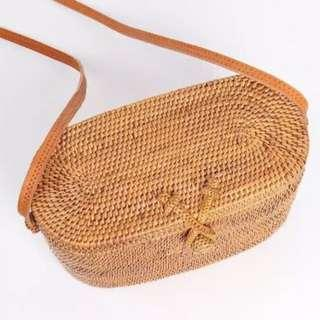Brand new rattan bag from Bali