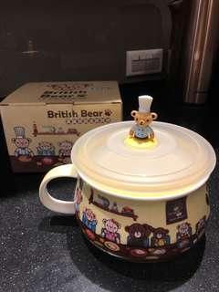 🚚 英國熊微波胖胖杯