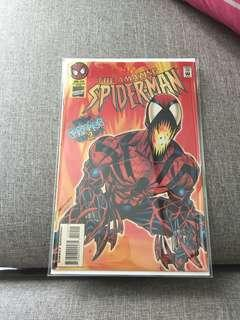🚚 Amazing Spiderman 410 first appearance of Spidercarnage