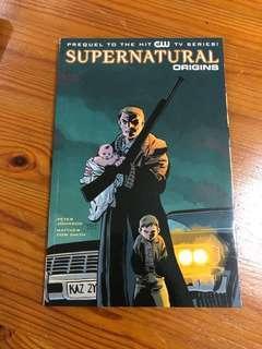Supernatural prequel comic