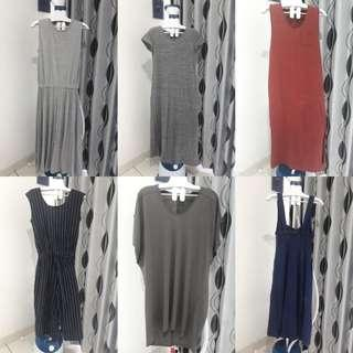 Dress import uniqlo