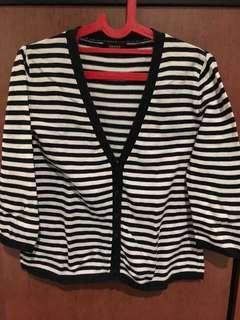 Minimal stripe cardigan