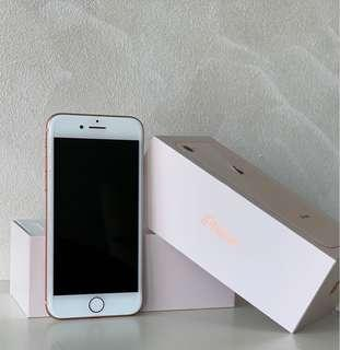 iPhone 8 64Gb Rose Gold (under warranty till Sep)