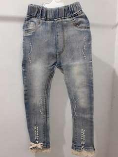 Jeans mutiara
